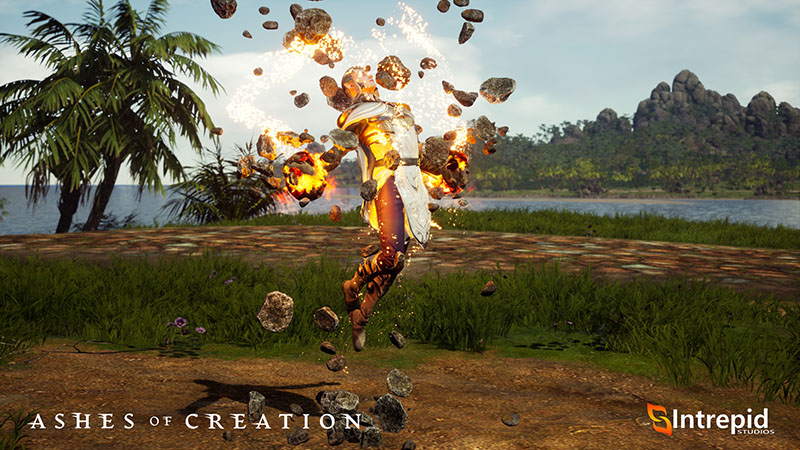 Ashes of Creation MMORPG Screenshot Mage Spell